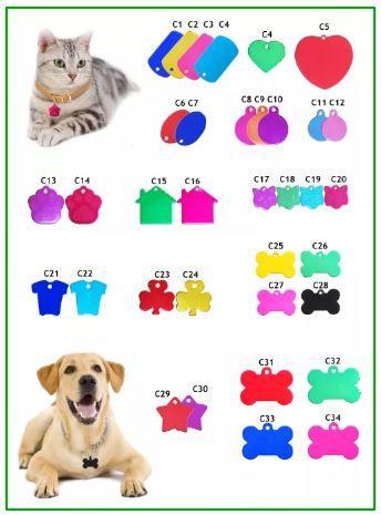 Medalioane personalizate pentru animale de companie