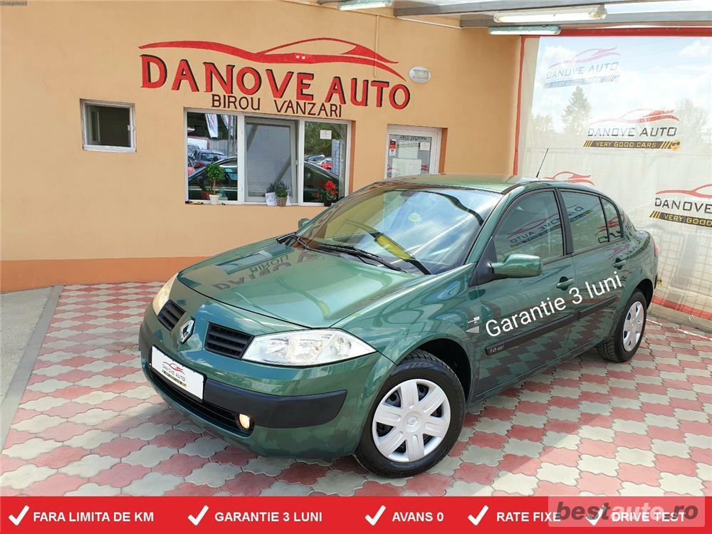 Renault Megane,GARANTIE 3 LUNI,BUY-BACK,RATE FIXE,Motor 1600 cmc,Benzina,115 CP,Clima,