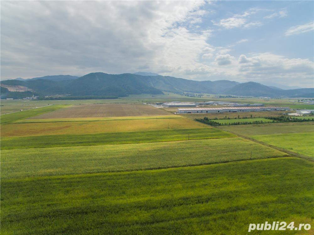 Vezi FILM!!Oportunitate de investitie la DN1, 5.000 mp, zona aeroportului Brasov