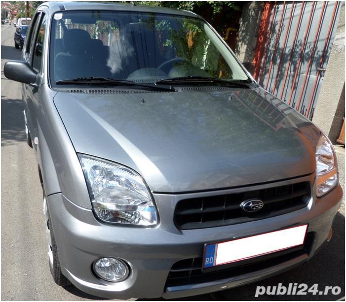 Subaru Justy 4x4, A/C, RAR recent - Inmatriculat definitiv