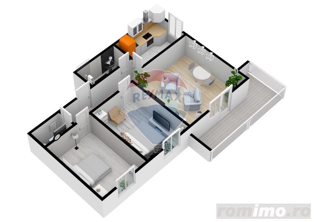 Apartament cu 3 camere | 61,6 mpu | Selimbar | COMISION 0%