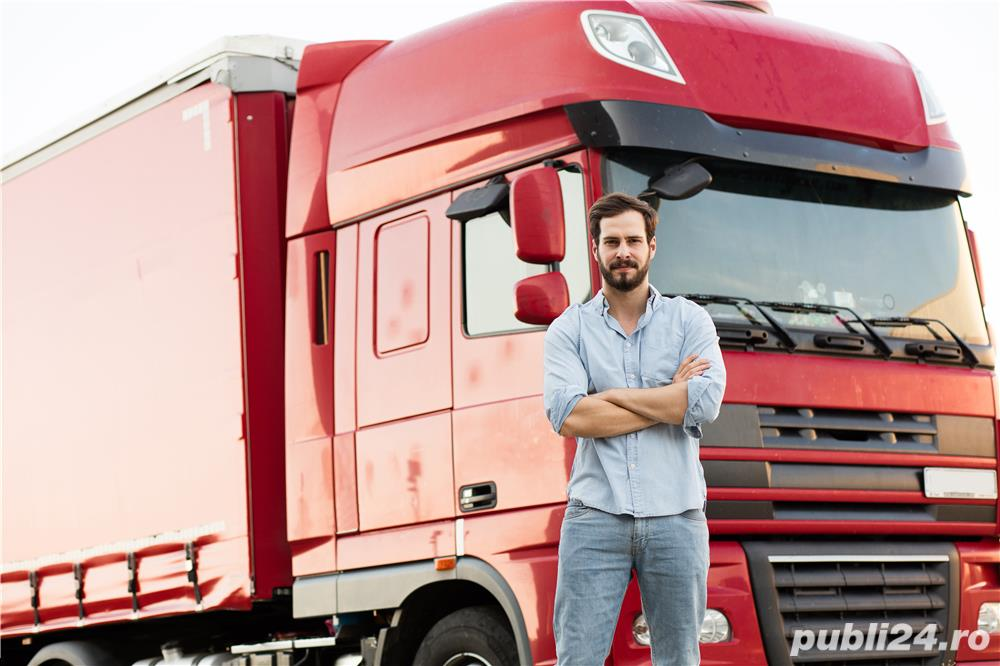 Șofer TIR Germania -Angajator german