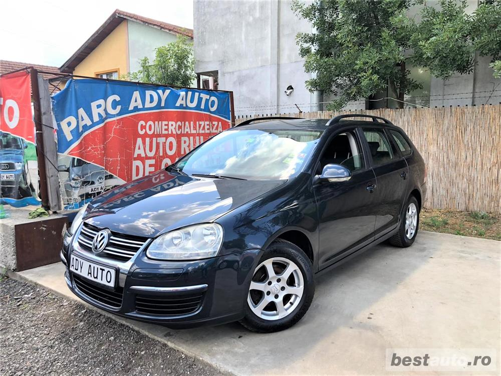 VW  GOLF BREK  1,9 TDI - AN 2008 / 08 - RATE FIXE , EGALE , FARA AVANS , CLIMA FUNCTIONALA