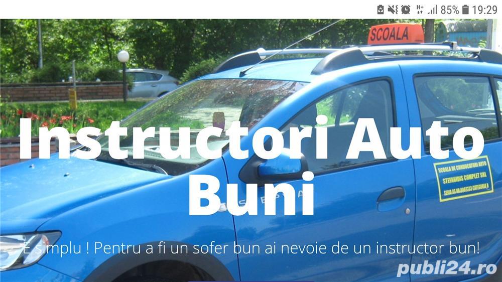 Angajez instructor auto categoria B Bucuresti