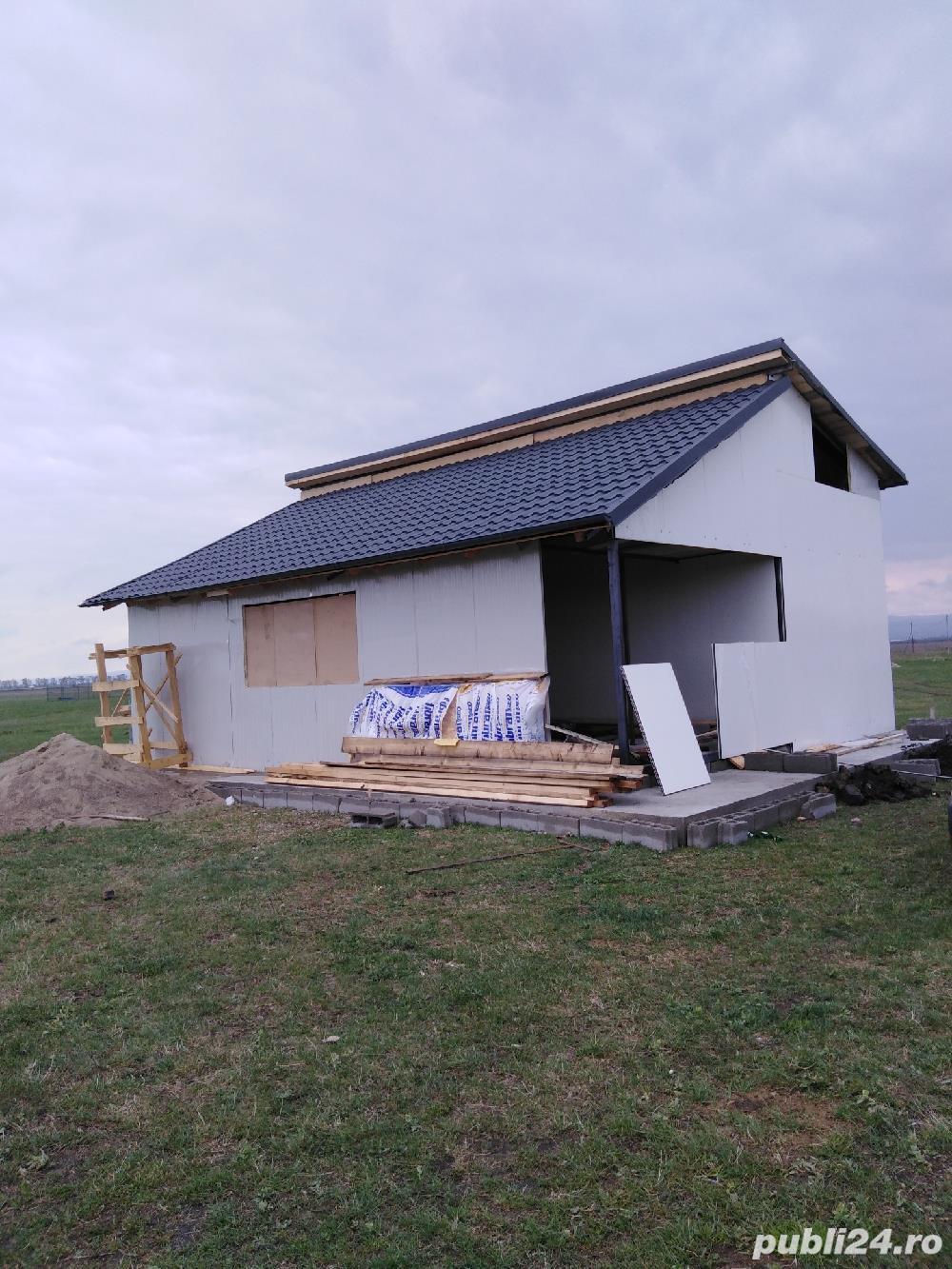 Constructi metalice tip containere, locuințe, garaje, birouri etc.