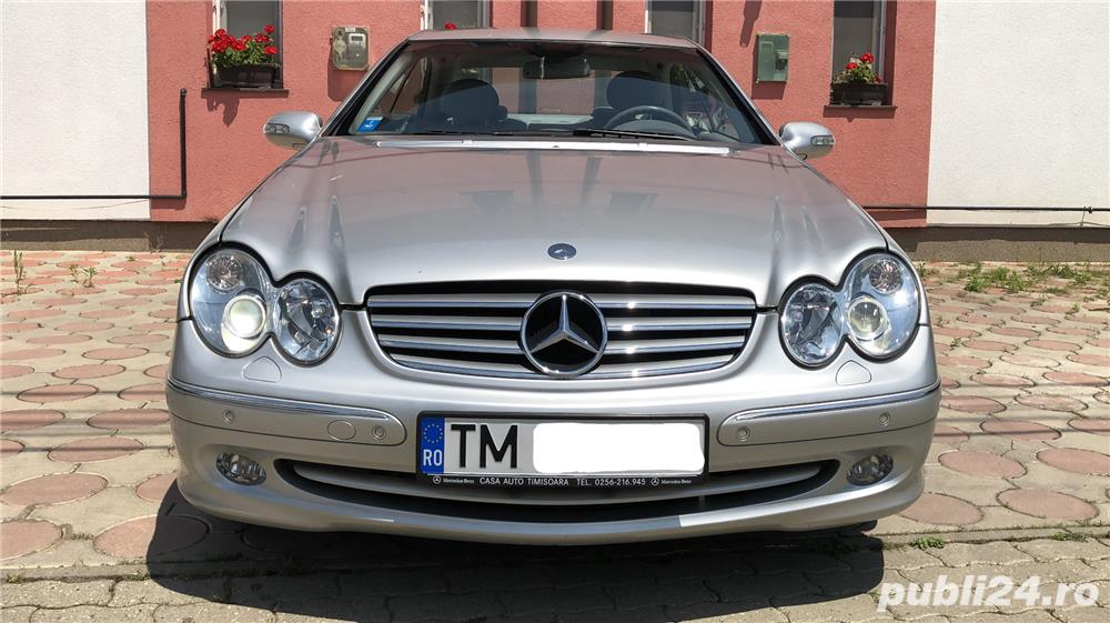 Mercedes-benz  CLK 270 143000 km reali nerulați in tară.
