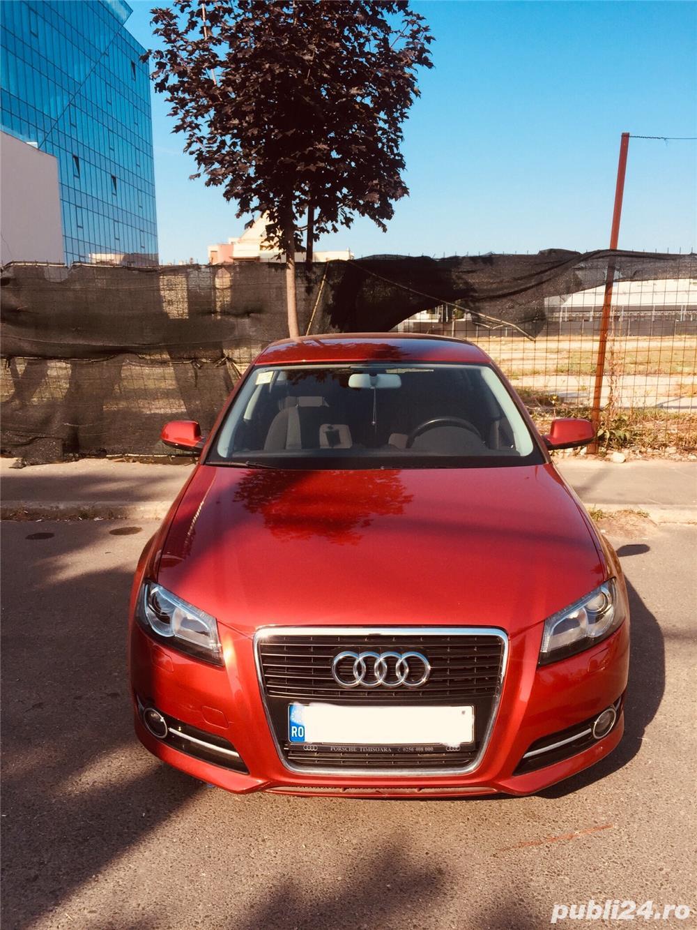 Audi A3 Sportback   An 2012   75.000 km   Diesel   Cutie automata