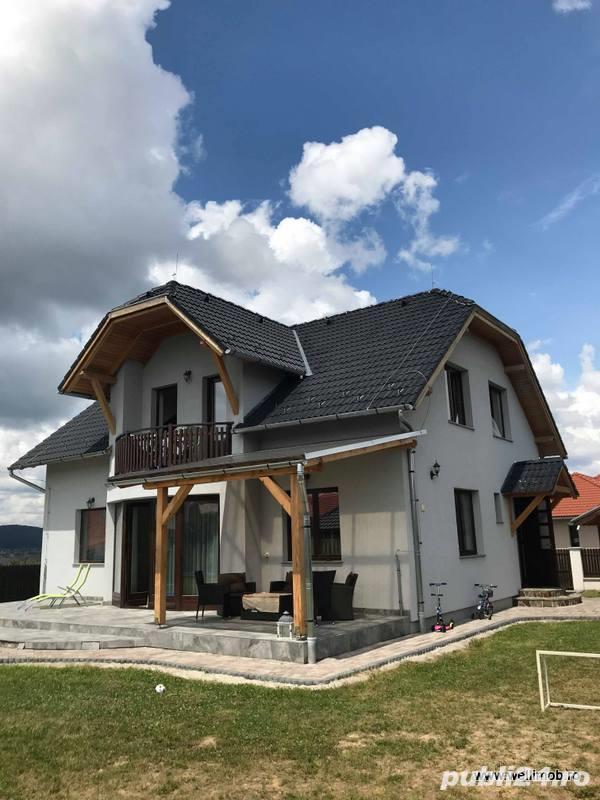 De vânzare, imobil 168 m², construit în anul 2015, în Szászok Tábora, cu teren aferent 973 m2
