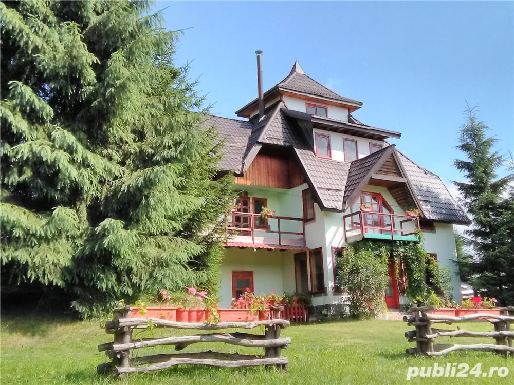 inchiriez  vila ,7camere, pentru relaxare  in natura la munte IN BUCOVINA
