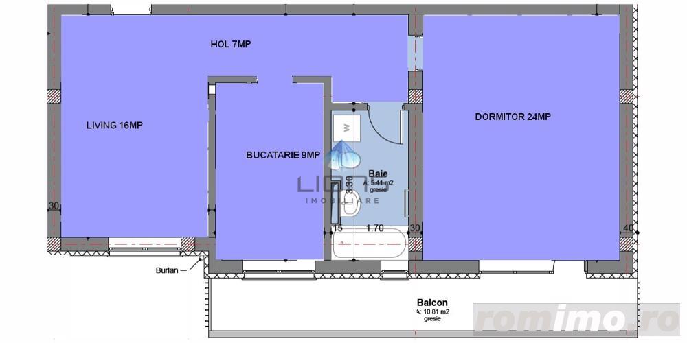 Apartament 2 camere decomandat de vanzare in Floresti strada Florilor