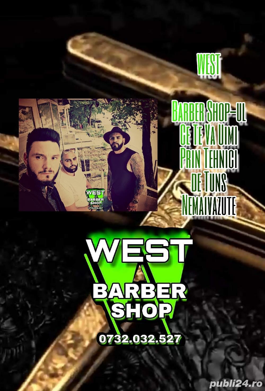 Frizer - WEST Barber Shop - 2000 lei