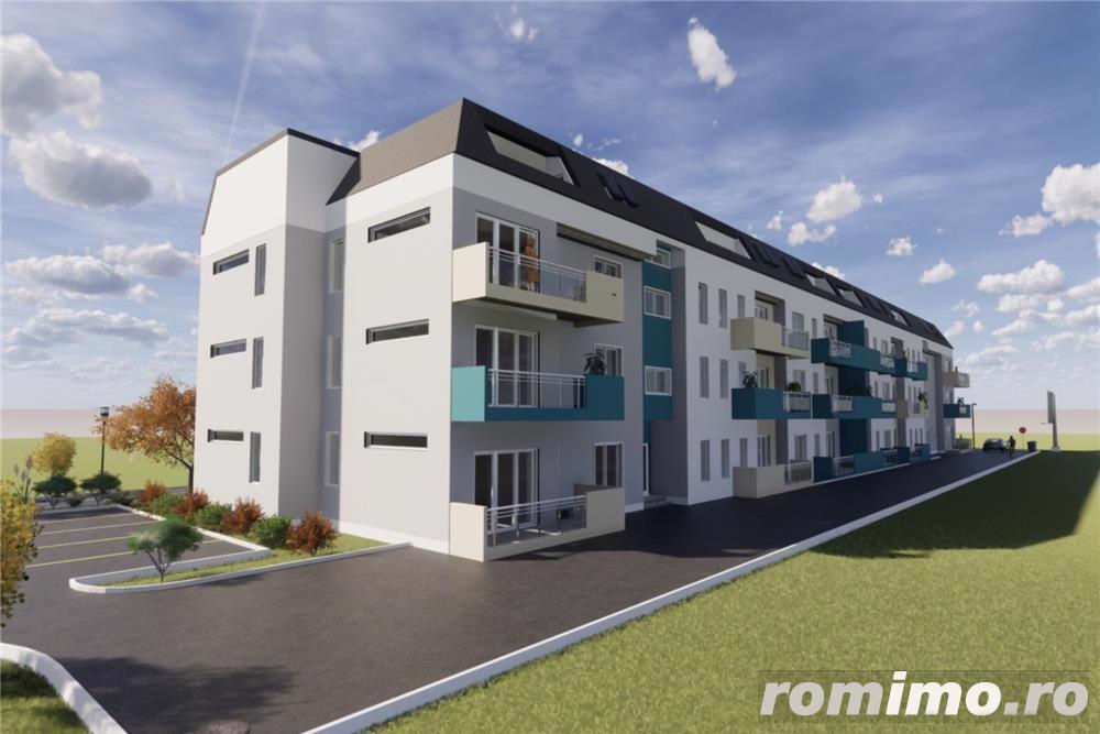 Apartamente noi, Proiect modernist, Zona Buziasului
