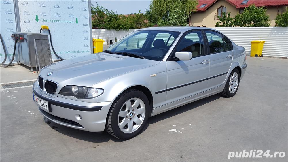 BMW 320 D E46 facelift 150 cp manual 6+1 trepte climatronic an 2004 Euro4