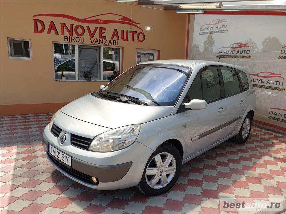 Renault scenic,AVANS 0,RATE FIXE,motor 1900 cmc,Diesel,131 CP,Model 7 locuri