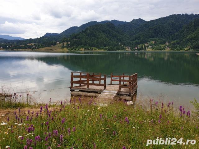 Cabana Colibita cu iesire la lac P+E1+M- 530 mp