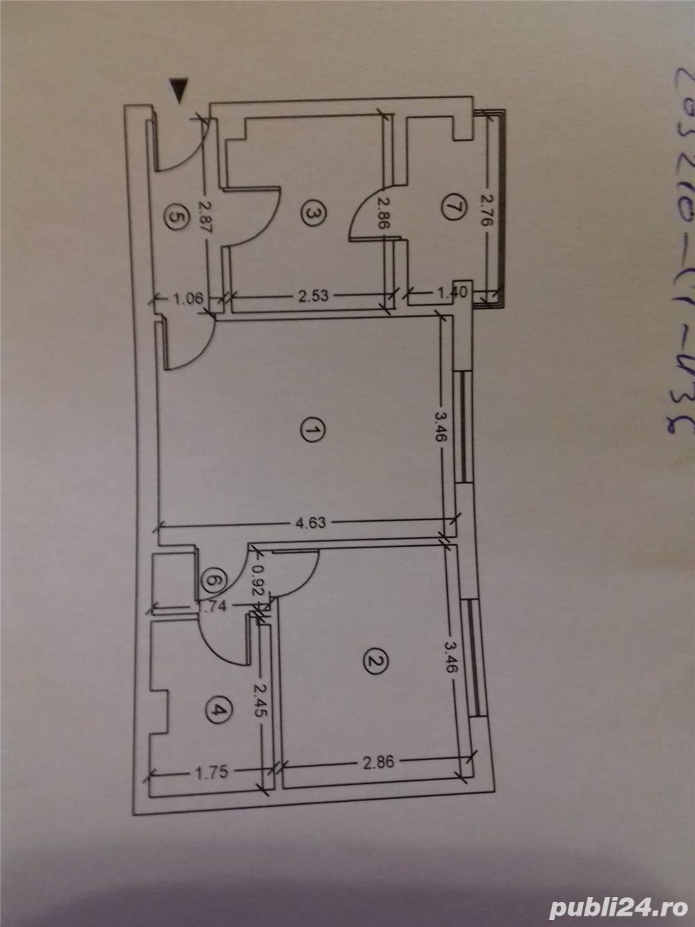 Vand apartament 2 camere 41000 euro negociabil