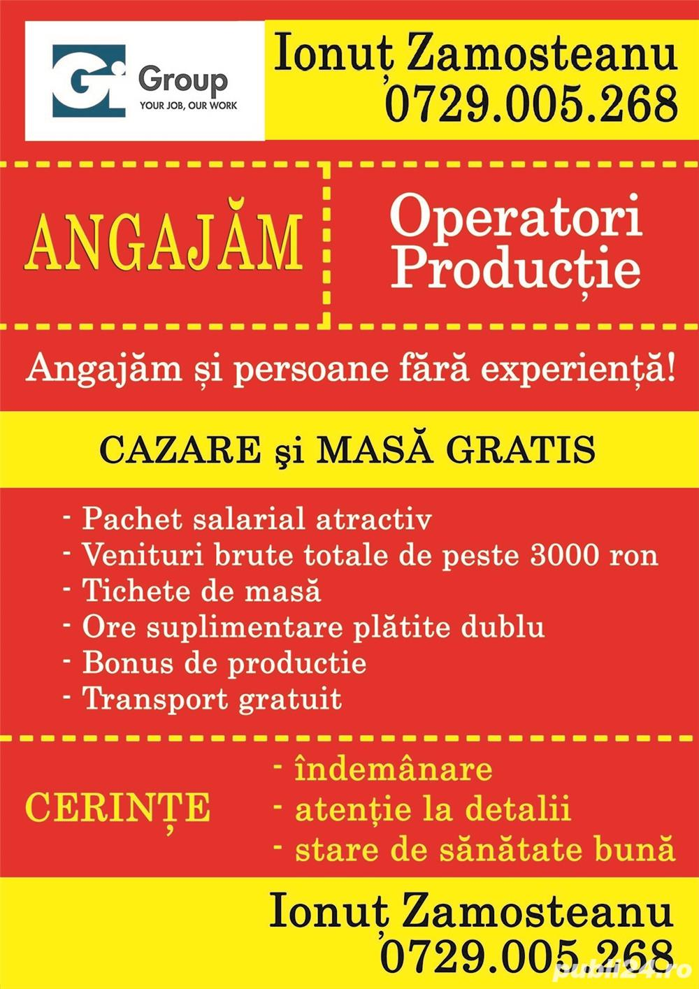 Angajam muncitori necalificati in Timisoara - cazare si masa asigurate gratuit. I'd 24