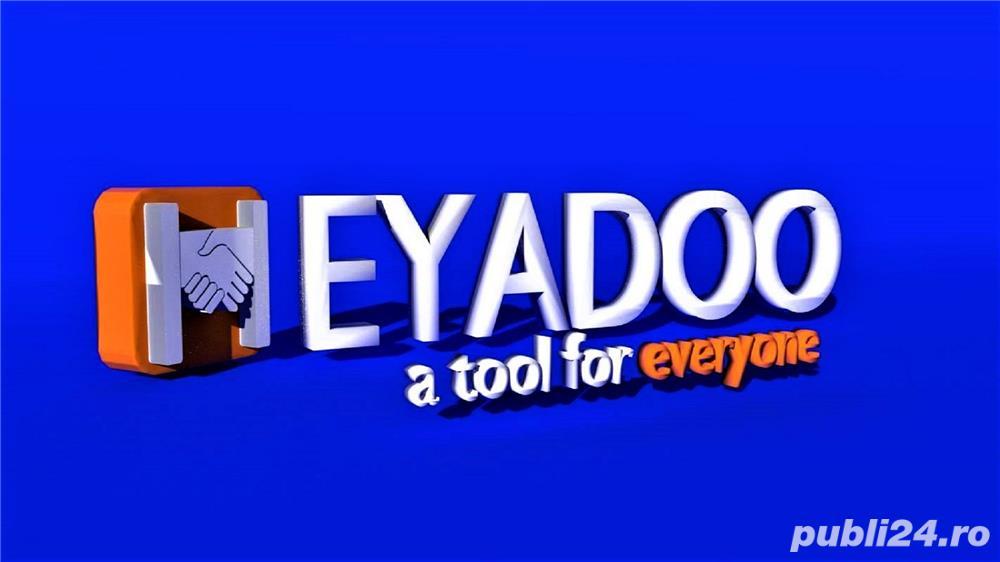 HEYADOO, noua platforma online de Marketing si Publicitate te asteapta in echipa de manageri!