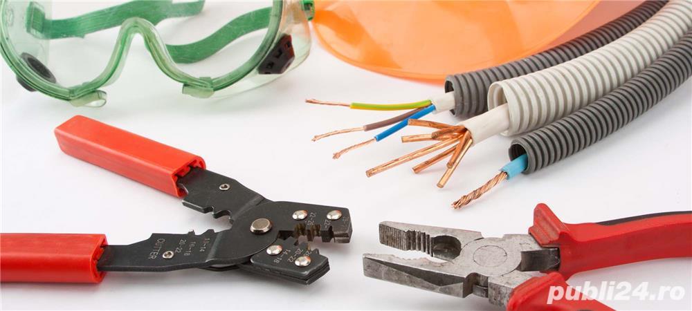 Electrician intretinere si reparatii