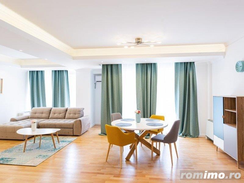 Apartament Soseaua Nordului-Herastrau cu 4 camere mobilate