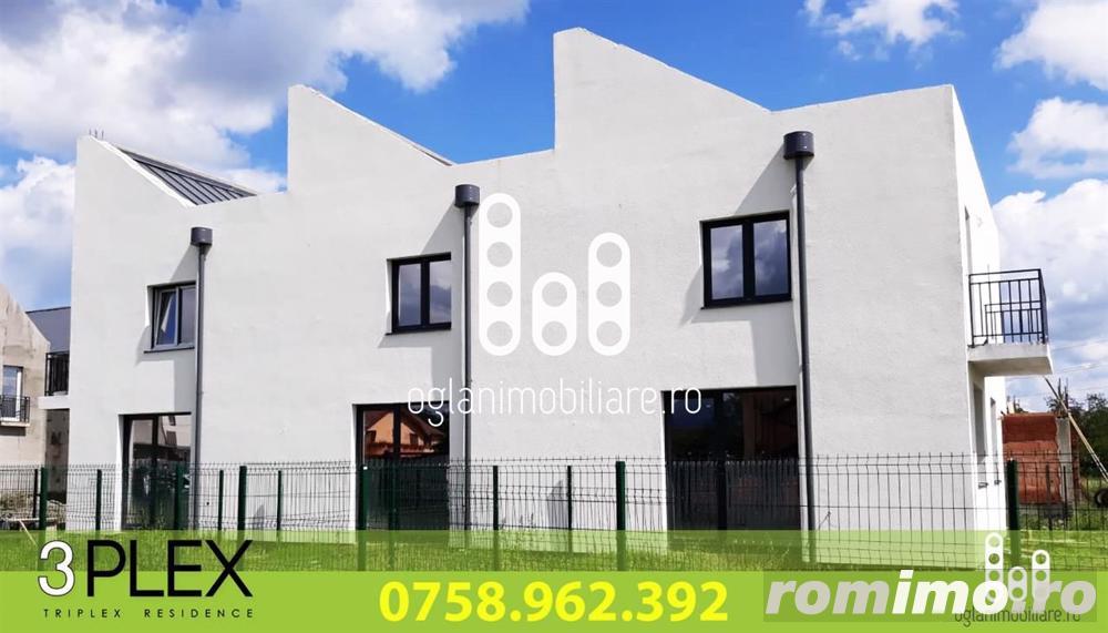 Casa triplex in Selimbar la pret de Apartament - Intabulate