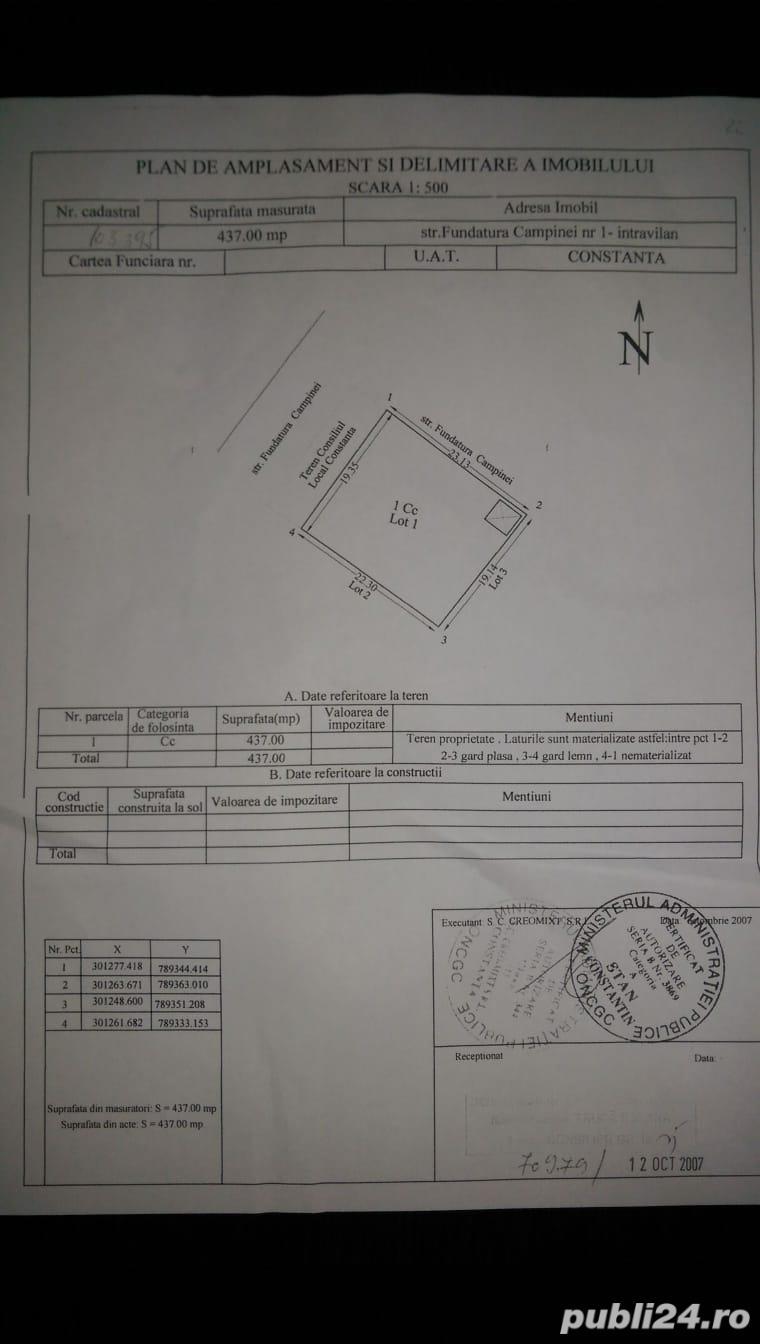 VAND TEREN 550 MP pe colt in Constanta - PROPRIETAR