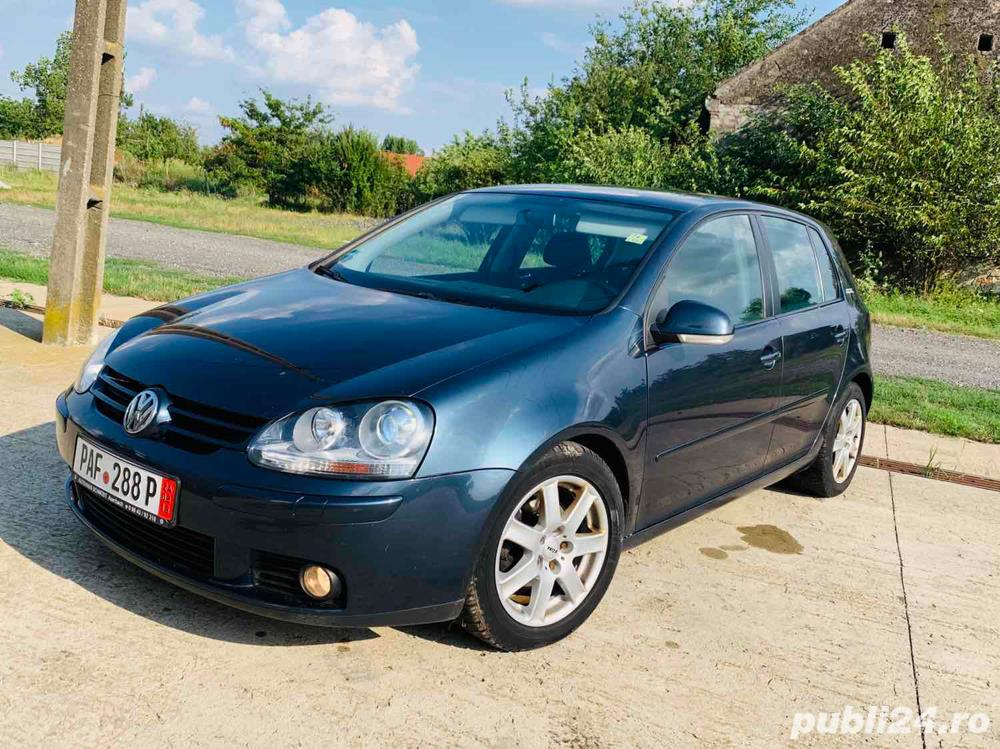 *Rate*Vw Golf GOAL, 1.9 TDI, Xenon, Navi, an 2007