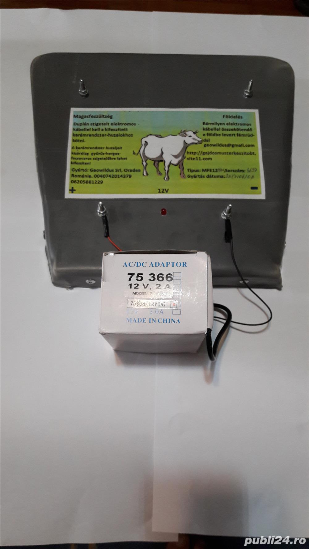 Aparate de gard electric 4 joule ,pt.animale salbatice,