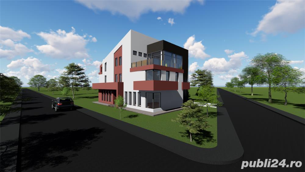 Cladire de birouri 535 mp zona centrala + parcare privata