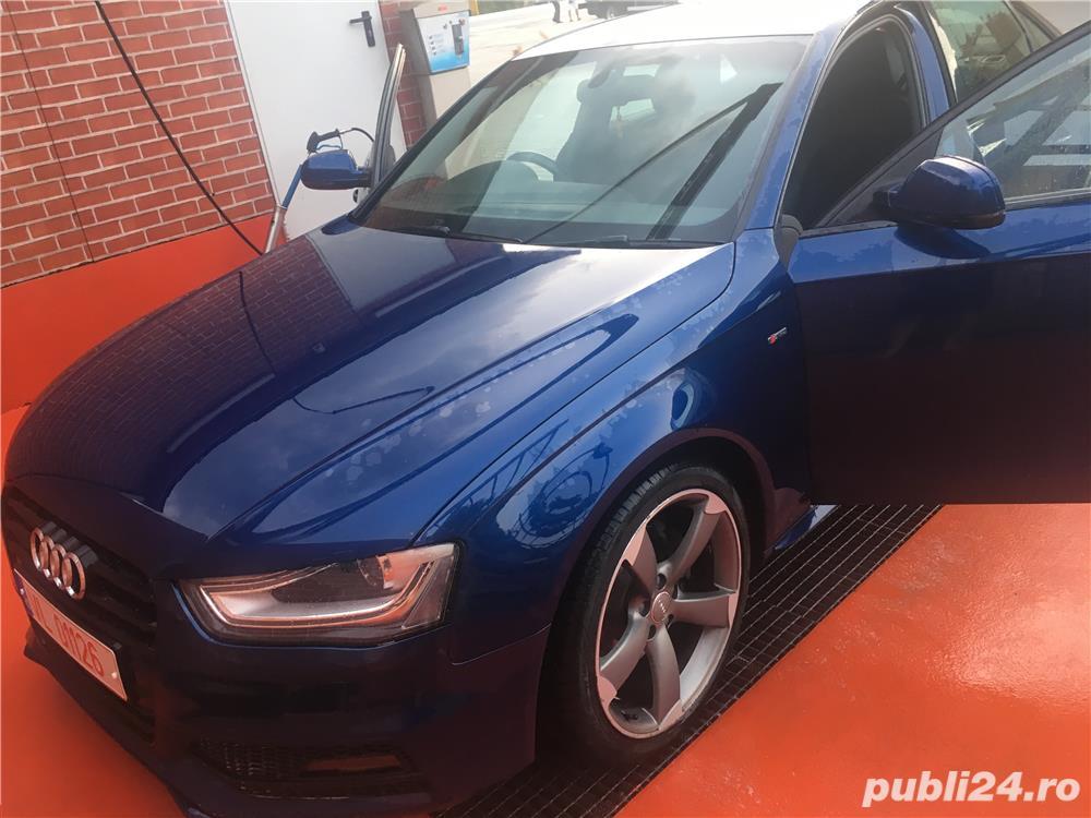 Audi A4 pachet Sline interior exterior