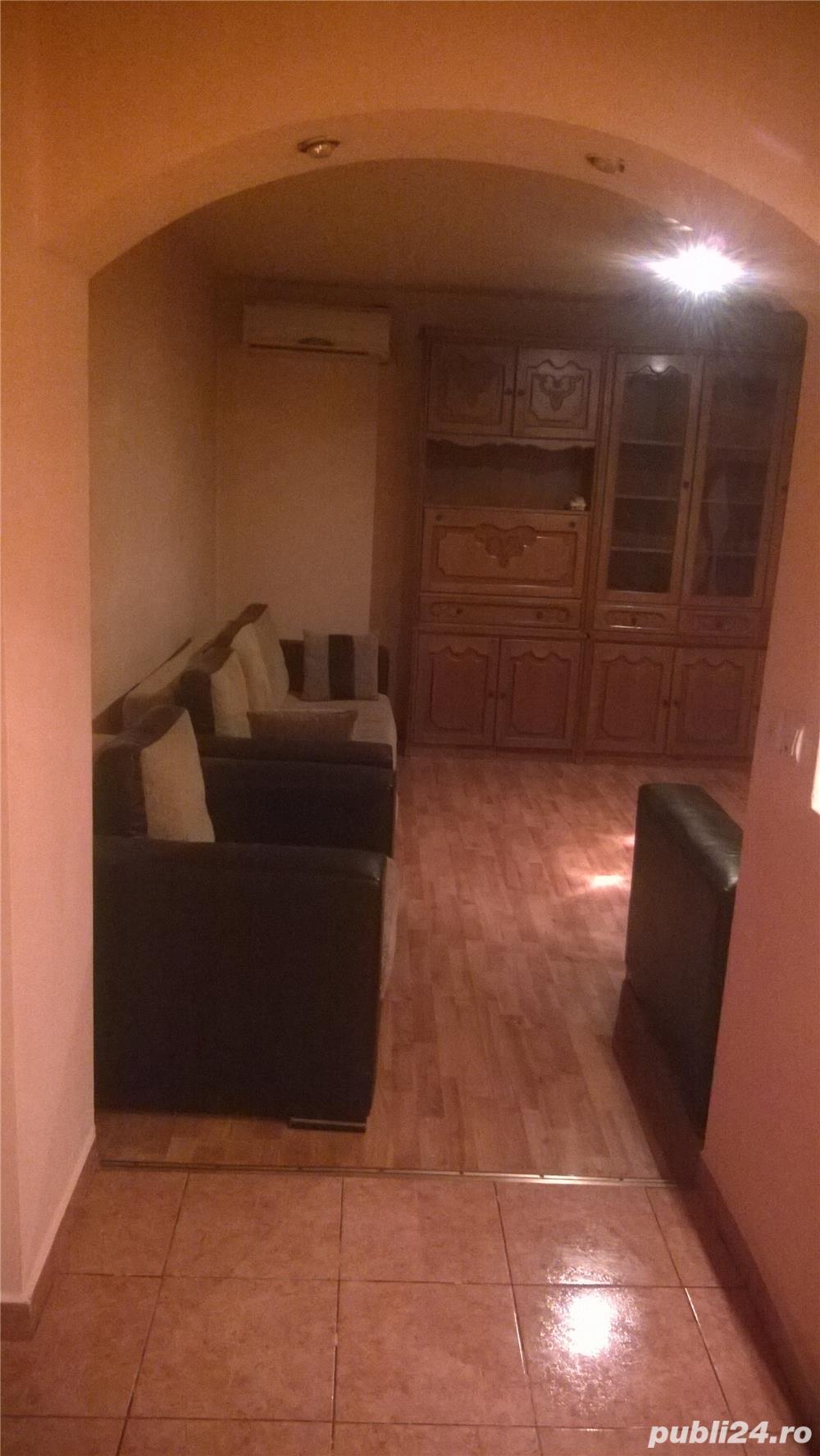 Inchiriez apartament 3 camere,centrala proprie, G. Enescu