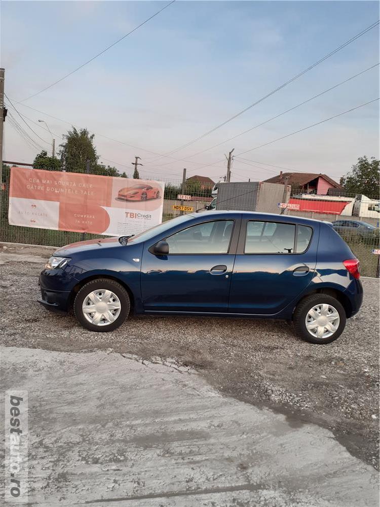 Dacia Sandero 1.2i   32000KM!!!  EURO 6  model 2017 posibilitate achizitionare in rate!!!