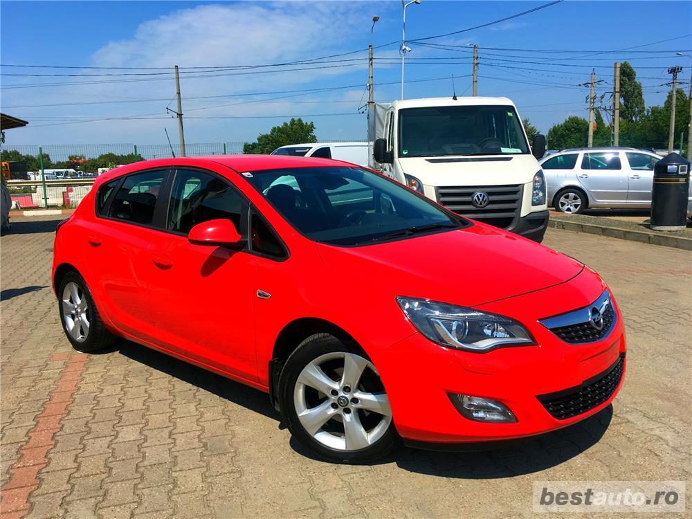 Opel Astra J 2010 LED Xenon 1.4 Turbo Benzina, 140 CP Deosebit IMPECABILA.