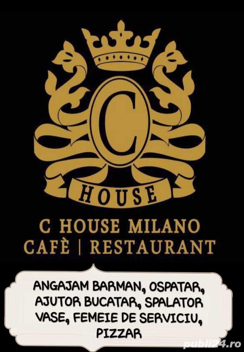 C House Milano angajeaza