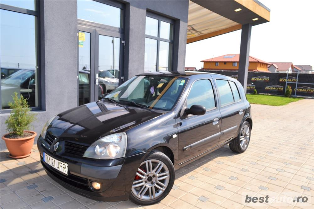 Renault Clio an:2004=avans 0 % rate fixe aprobarea creditului in 2 ore=autohaus vindem si in rate