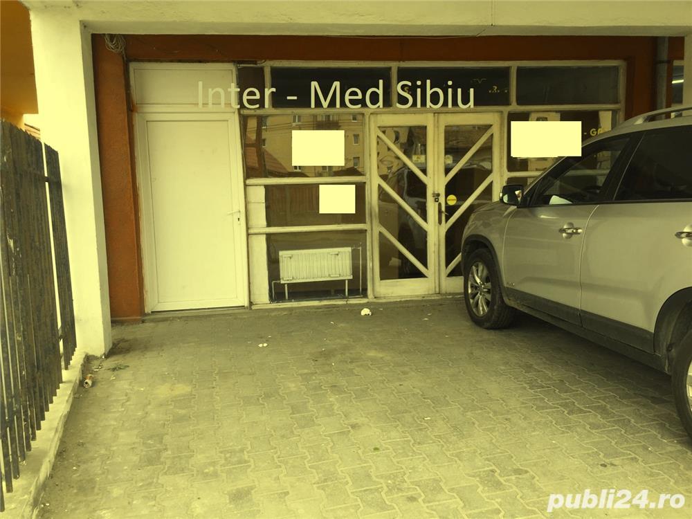 Spatiu comercial Sibiu 55 mp cu vitrina