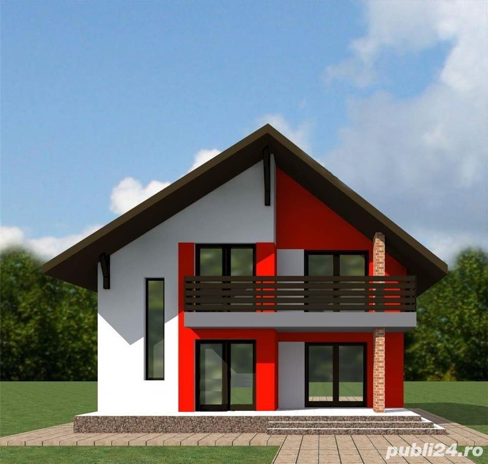 Proiect tehnic de executie casa 125 mp utili (fara terase si balcoane)