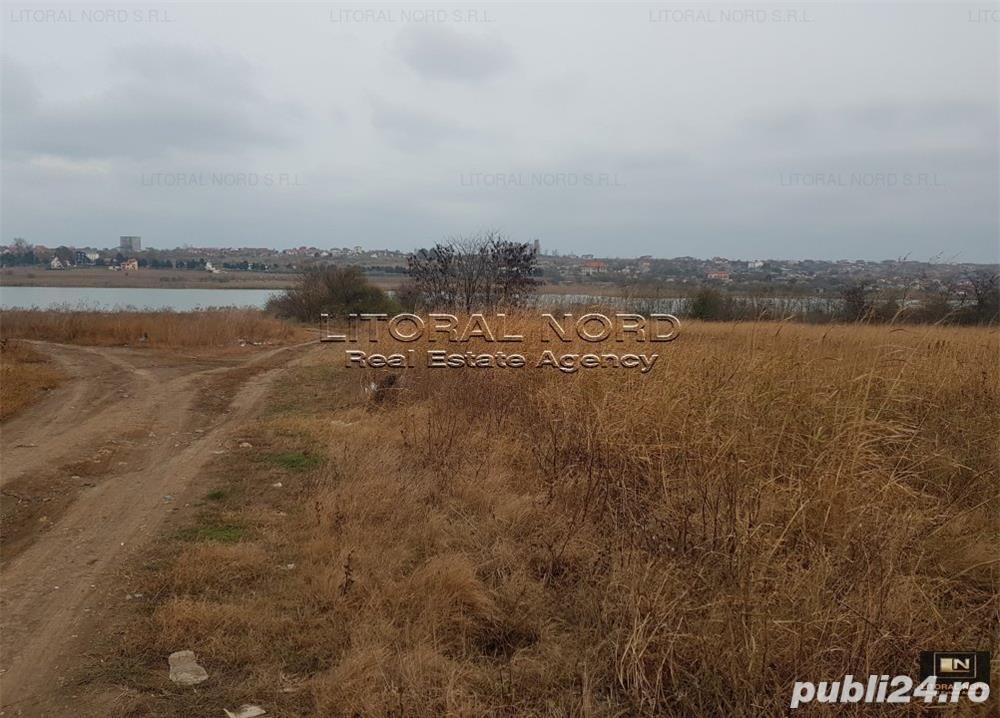 Tuzla, teren intravilan 4600mp, pe colt,deschidere 130ml,la 150ml de balta Tuzla