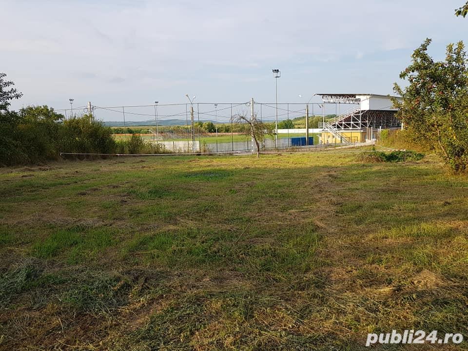 De vanzare teren 620 mp in Sanmartin , vis-a-vis de stadion