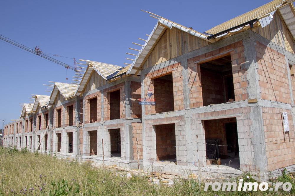 Casa nouă de vanzare P+E+M, zonă Calea Cisnadiei.