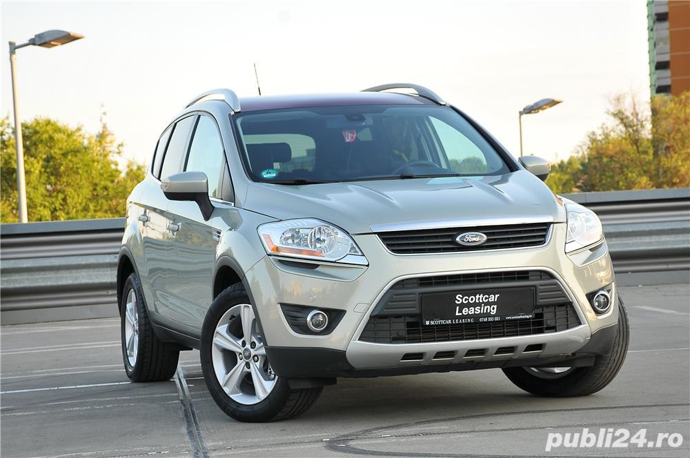 Ford Kuga Titanium 2.0Tdci 140C.p Automata PowerShift 4X4/Creditare Auto