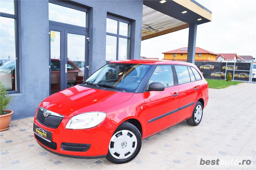 Skoda Fabia an:2009=avans 0 % rate fixe aprobarea creditului in 2 ore=autohaus vindem si in rate