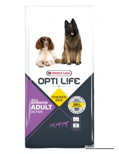 Opti Life Adult Active All Breeds, 12,5 kg
