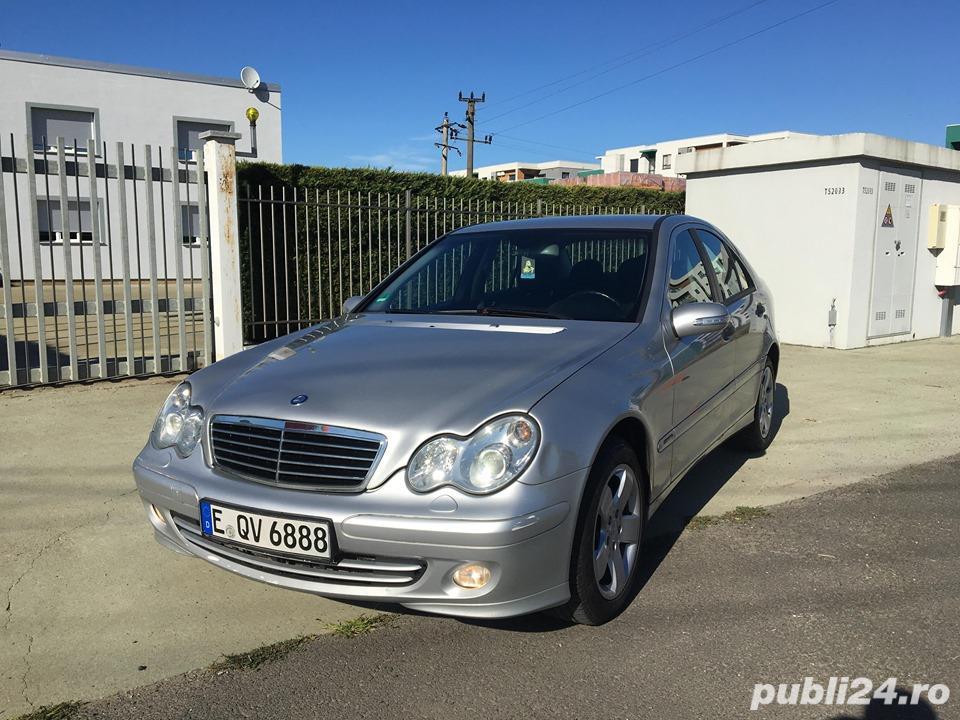 Mercedes C200 CDI Facelift Climatronic Xenon Adus Acum