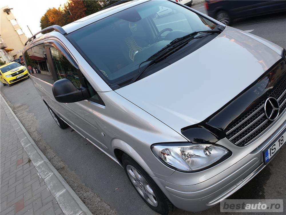 Mercedes-benz Vito+remorcă de 350kg