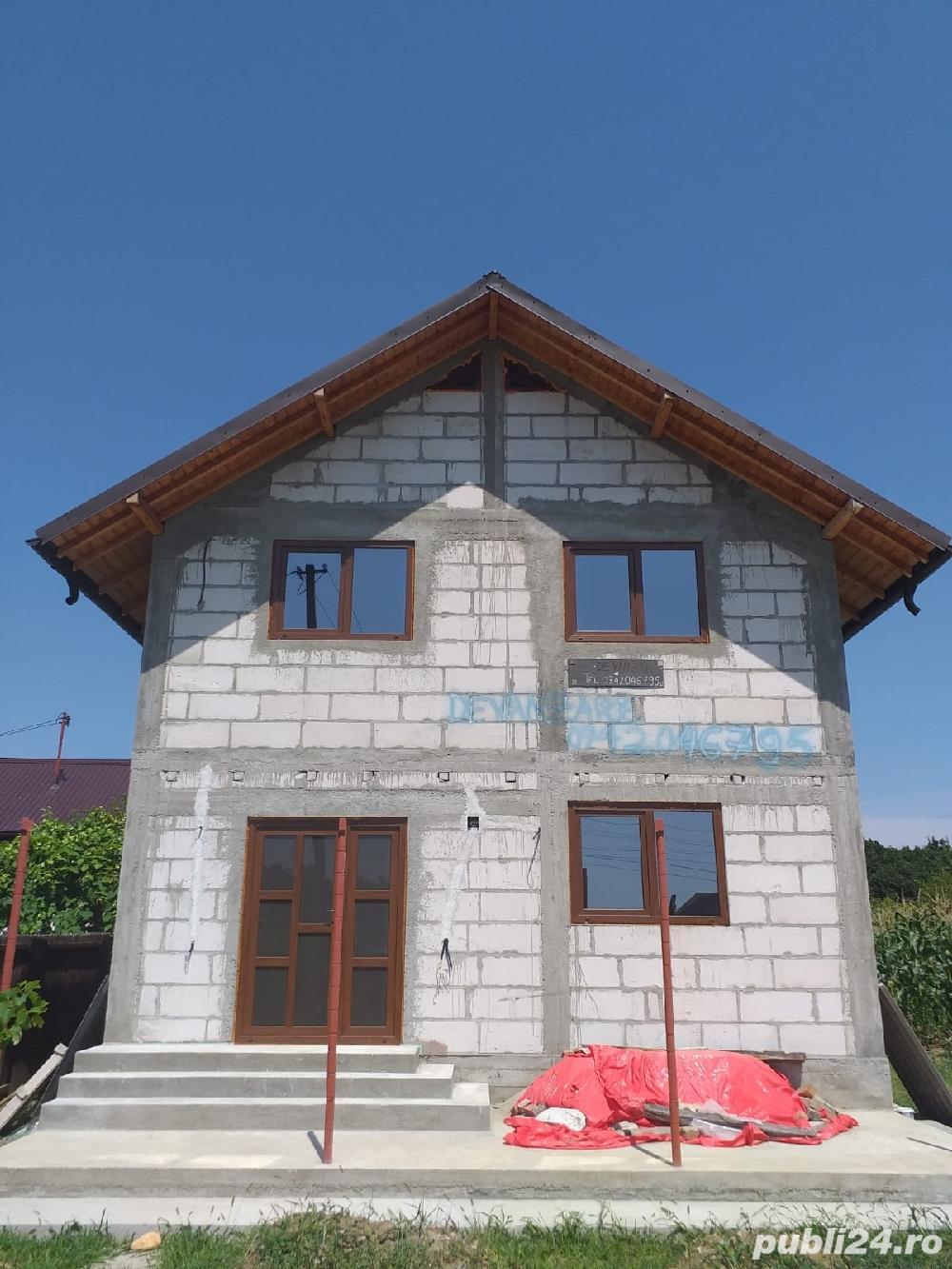 Casa noua P+1+pod 2018 SU 94mp teren 2700 mp.