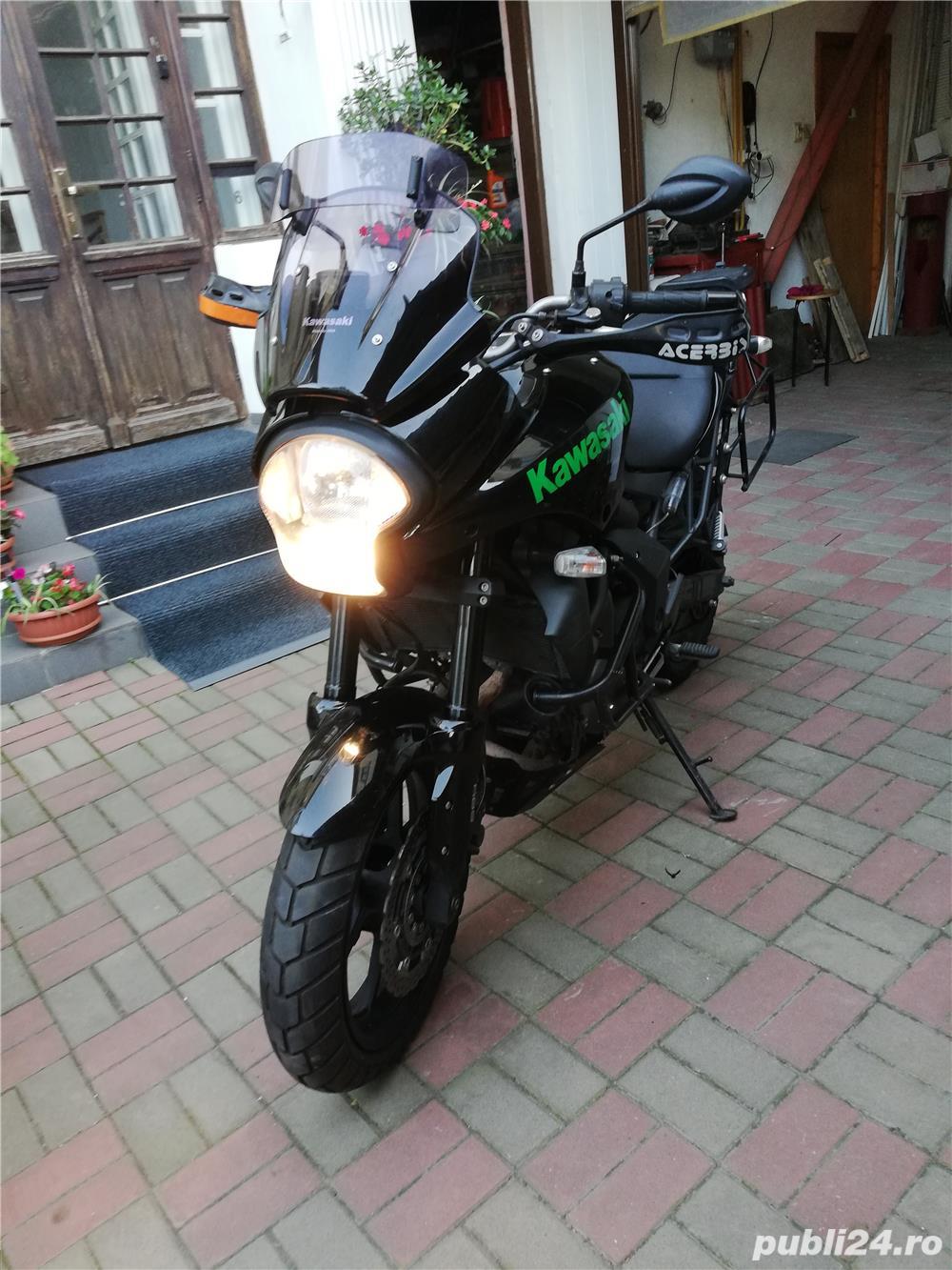 Kawasaki Versys 650, ABS
