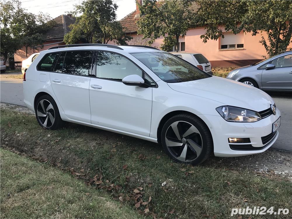 Golf 7 , 135000 km , istoric VW , an 2014 , piele/navi/masaj/parkpilot