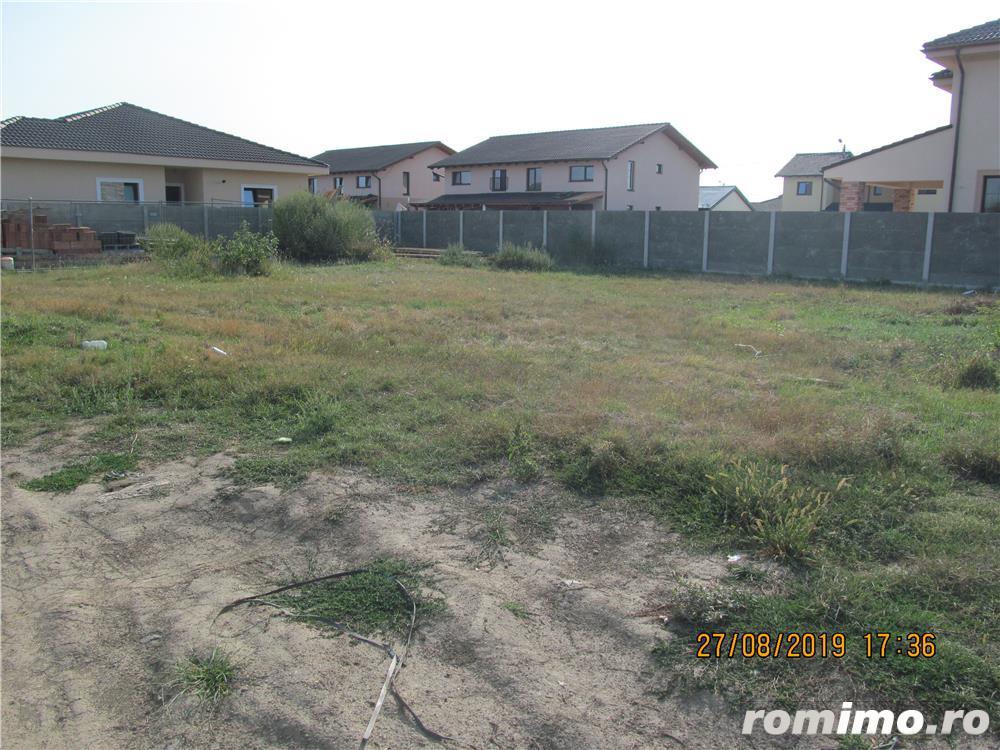 e) Mosnita Noua, teren ideal pt casa unifamiliara, zona locuita, utilitati