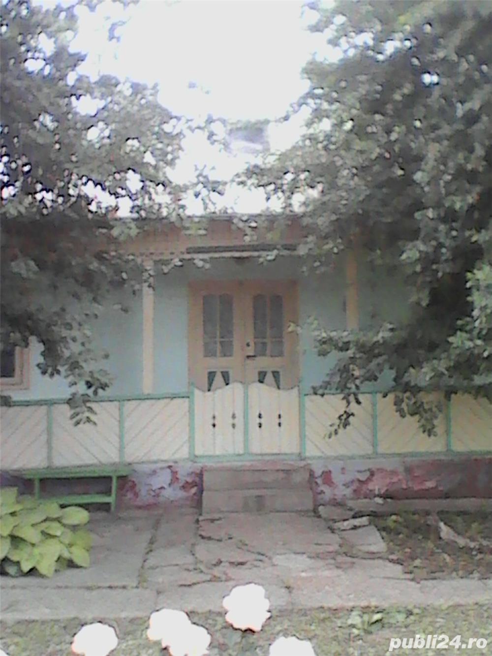 Vand casa in Tulucesti, jud. Galati cu toate utilitatile, 1323 mp si anexe